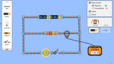 电路组建实验:直流