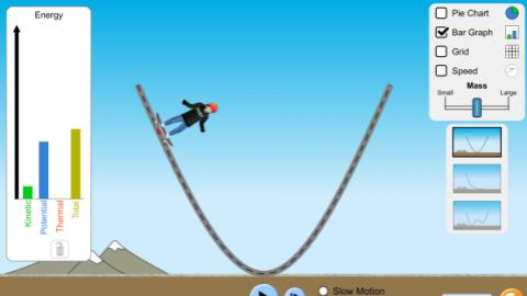 能量滑板竞技场: 基础