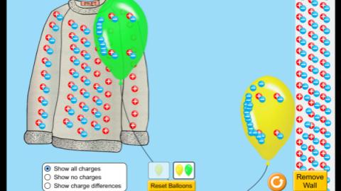 气球和静电(摩擦起电)